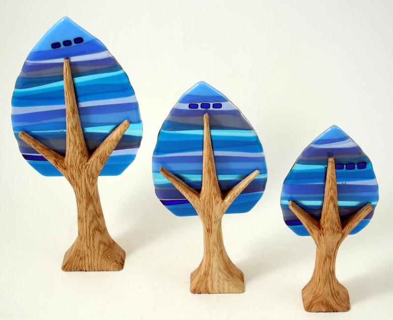 Arbor sculptures large, medium and small