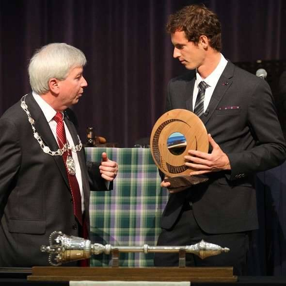 andy murray freedom of stirling