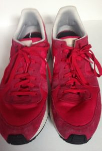 My red trainers have done me proud! 2207x3264