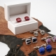 Fused Glass Cufflinks
