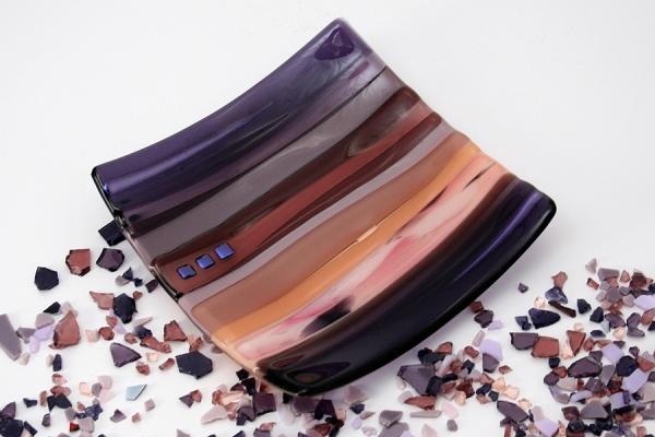 Medium Sushi Dish Purple
