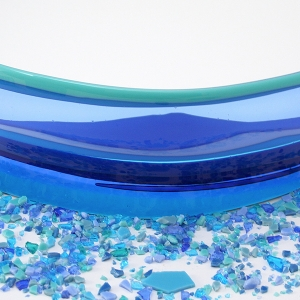 Small Horizon Panel Blue