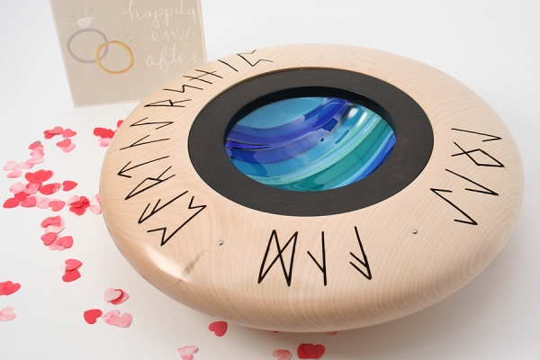 Wedding Bowl Sycamore - Blue