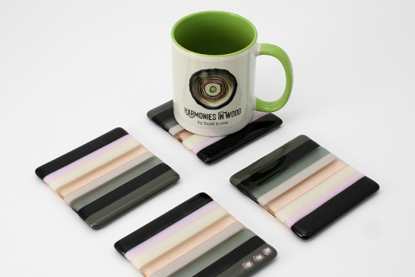 Fused-Glass-Coasters-black-grey-pink