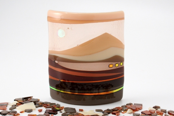 Mini Horizon Panel Brown_Cream