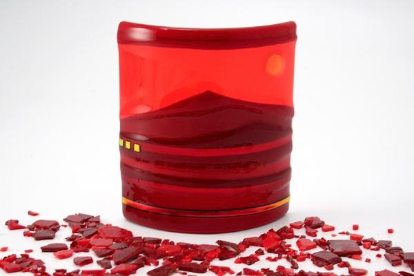 Mini-Horizon-Panel-Red