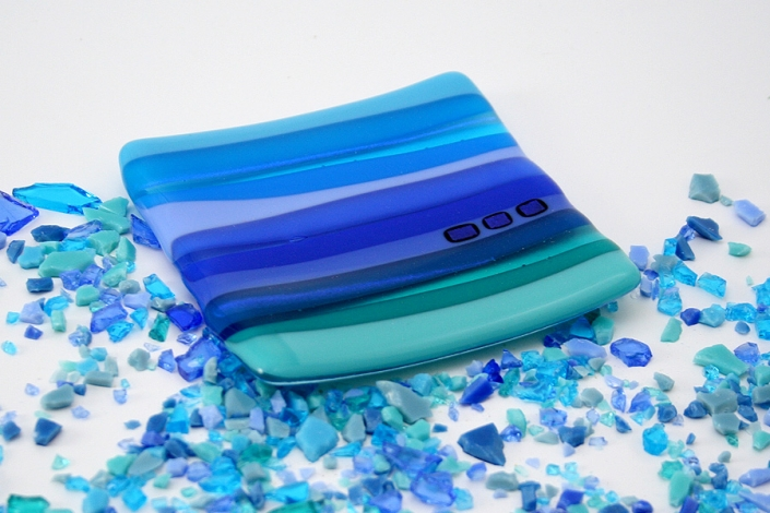 Small Fused Glass Dish
